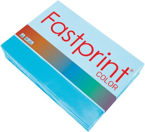 Kopieerpapier Fastprint A4 160gr azuurblauw 250vel