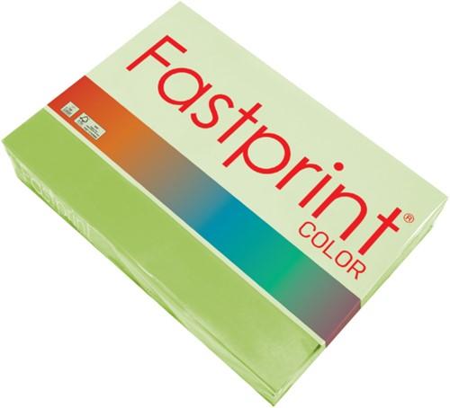 Kopieerpapier Fastprint A4 120gr helgroen 250vel