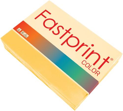 Kopieerpapier Fastprint A4 120gr diepgeel 250vel