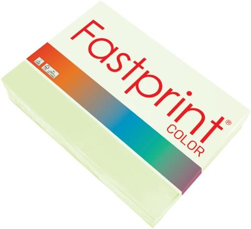 Kopieerpapier Fastprint A4 120gr lichtgroen 250vel