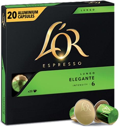 Koffiecups L'Or Espresso Elegante 20 stuks