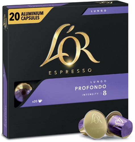Koffiecups L'Or Espresso Profondo 20 stuks