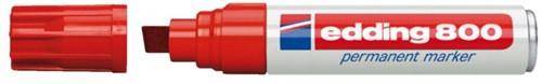 Viltstift edding 800 schuin rood 4-12mm