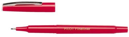 Fineliner PILOT SW-PPF rood 0.4mm