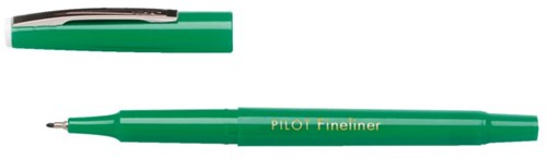 Fineliner PILOT SW-PPF groen 0.4mm