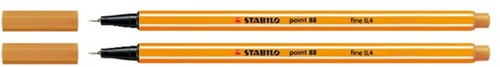 Fineliner STABILO point 88/54 oranje