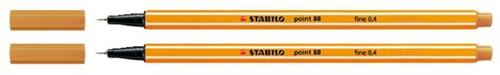 Fineliner STABILO point 88/26 apricot