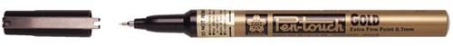 Viltstift Sakura pen-touch EF Goud 1-2mm