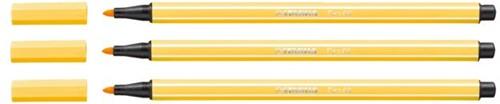 Viltstift STABILO Pen 68/44 geel