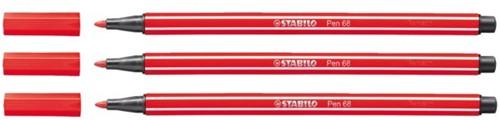 Viltstift STABILO Pen 68/48 karmijnrood