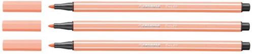 Viltstift STABILO Pen 68/26 apricot