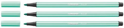 Viltstift STABILO Pen 68/13 ijsgroen