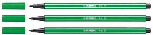Viltstift STABILO Pen 68/36 smaragd groen