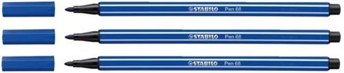 Viltstift STABILO Pen 68/32 donkerblauw