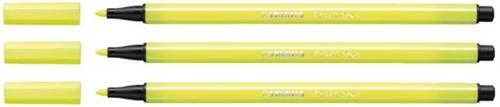 Viltstift STABILO Pen 68/024 neon geel