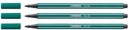 Viltstift STABILO Pen 68/53 turquoise groen
