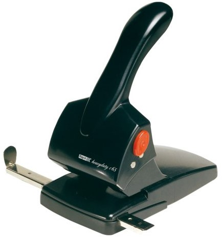 Perforator Rapid HDC65 2-gaats 65vel zwart