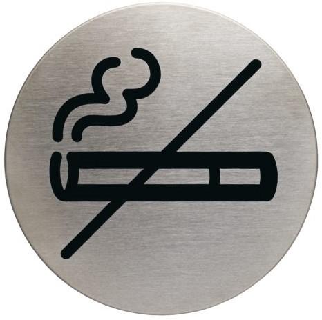 Infobord pictogram Durable 4911 niet roken rond 83Mm