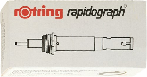 Tekenkop rOtring 755025 rapidograph 0.25mm wit