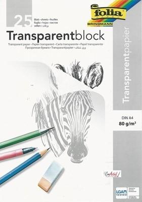 Transparant tekenpapier A4 (21,0×29,7)