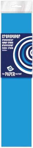 Haza Crepe papier Fluor pak 10 vouw Blauw - 085