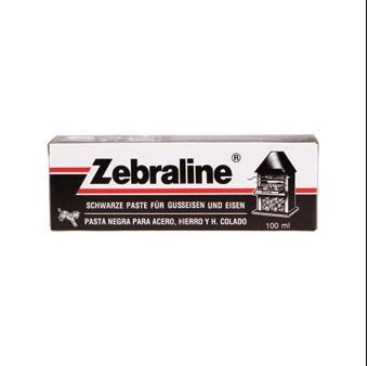Zwartsel tube 100g  (voor metaalfolie)
