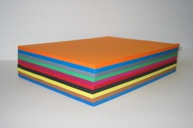 Festival tekenpapier 24x32cm. / pak 500 vel  / 10 kleuren