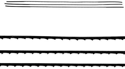 Figuurzaagjes alu/messing nr 4 144 stuks