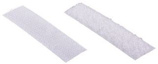 Klitteband 20mm zelfklevend wit 2 meter