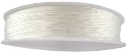 Kralendraad nylon diam 0.80mm transparant 25m