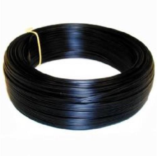 Meeraderig montagesnoer 0,75mm  100m zwart