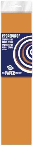 Haza Crepe papier Fluor pak 10 vouw Oranje - 082