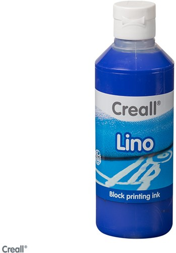 Creall lino flacon 250ml ultramarijn-06