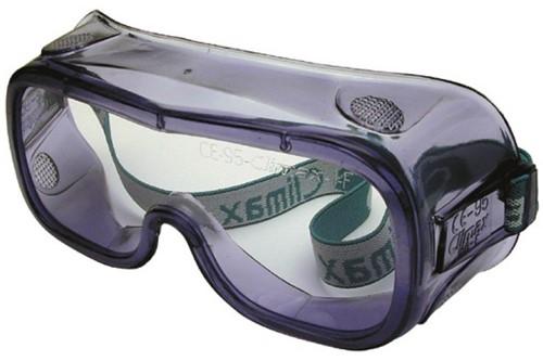 veiligheidsbril met hoofdband