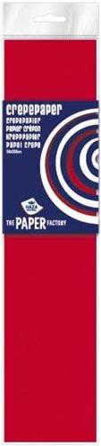 Haza Crepe papier Fluor pak 10 vouw Rood - 083