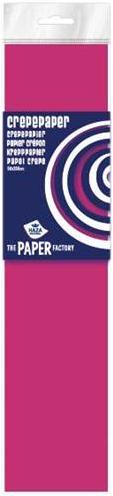 Haza Crepe papier Fluor pak 10 vouw Hard Roze - 084