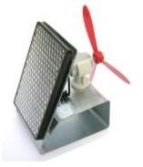 Schakelventilator aluminium