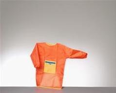 Verfschortje oranje small (0-4 jaar)