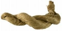 Vlas, naturel streng voor o.a. poppenhaar