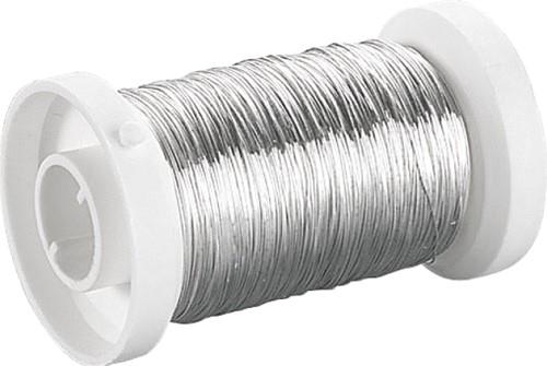 Zilverdraad 0,80mm spoel 6m